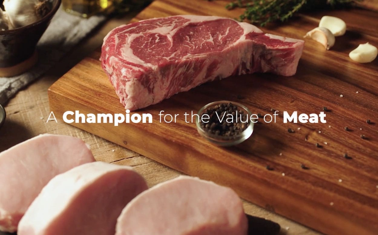 A Champion for the Value of Meat