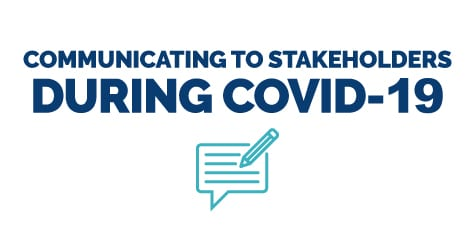 Communicating to Stakeholders