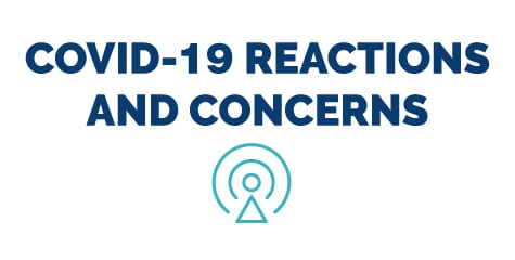Covid-19 Reactions and Concerns