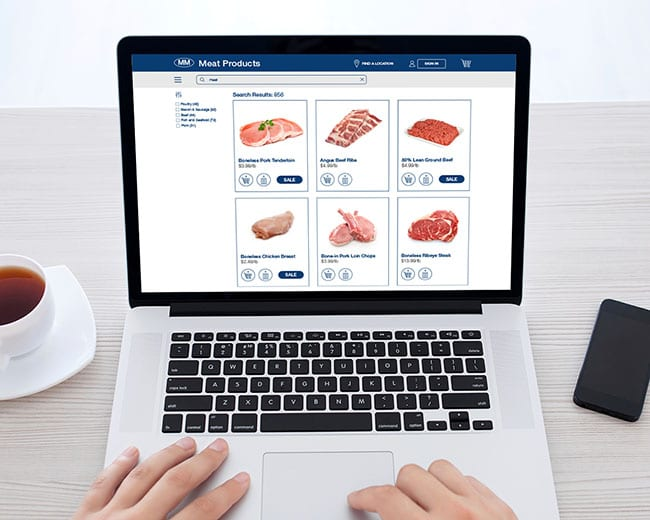 Online Meat Shopping